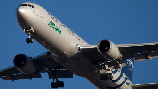 AlItalia used a classic tactic: Deny and delay.