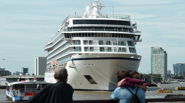 This ship is currently sailing on the world's longest ever cruise.