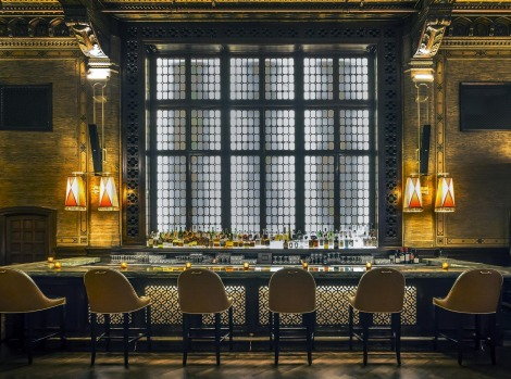 THE CAMPBELL BAR, GRAND CENTRAL STATION: Few bars have served as the private office of a mega-rich businessman, a ...
