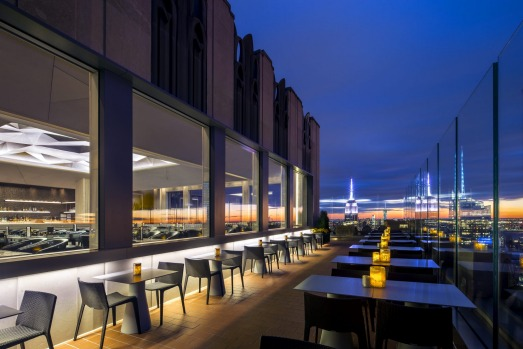 BAR SIXTYFIVE AT RAINBOW ROOM: Sixty-five floors above New York, with superb views of the Empire State Building, the ...