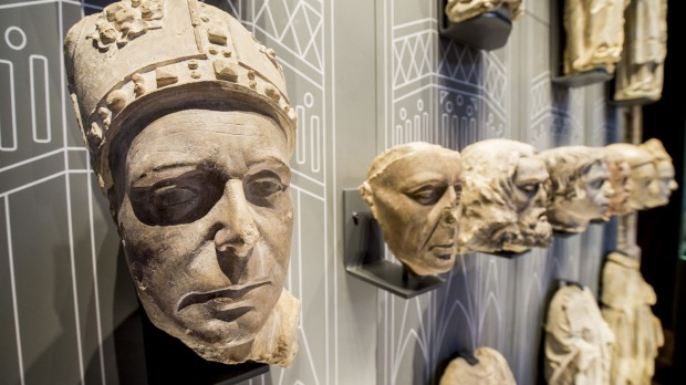 The Kings and Scribes: The Birth of a Nation exhibition at Winchester Cathedral.