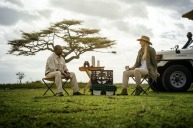 Experience the sights of Africa while on safari.