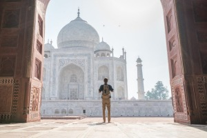 Some destinations are worth paying the single supplement for: Taj Mahal, Agra, India.