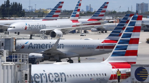 The disturbing encounter happened with an American Airlines employee.