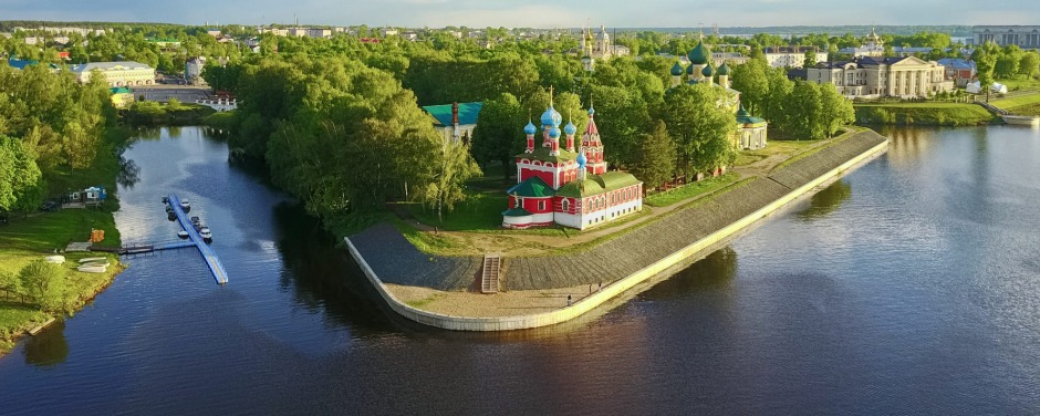 The Uglich Kremlin is a historical and architectural complex in the historic center of Uglich located on the right bank ...