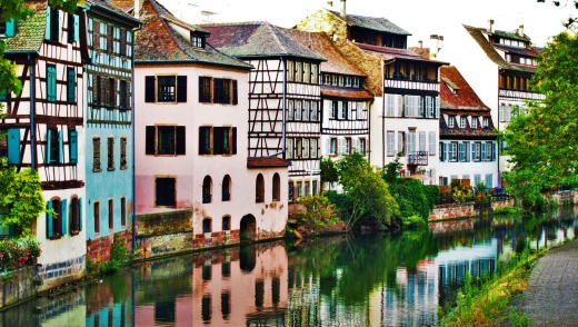 Petite France in Strasbourg SatSept15Cruise - Crystal Bach, Basel to Amsterdam - Sally Macmillan iStock image for ...