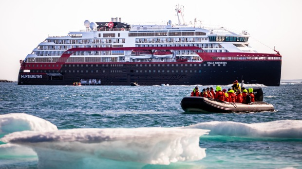 Passengers on board the Roald Amundsen, including many Australians, have not been allowed to dock in Chile.