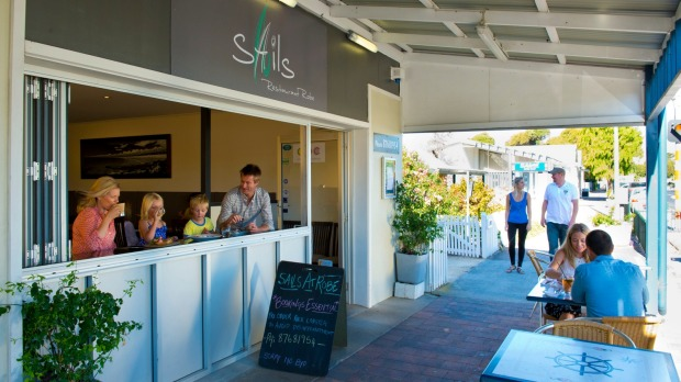 Sails Restaurant in Robe.