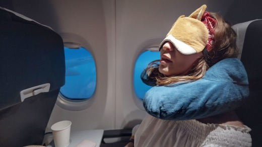The standard U-shaped travel pillow has been around since 1928.
