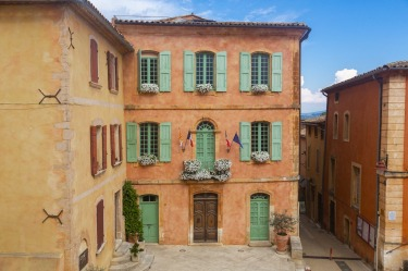 Roussillon, Provence: In the heart of one of the biggest ochre deposits in the world, someone really did paint the town ...