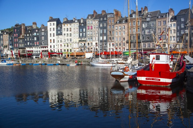 Honfleur: Near the mouth of the mighty Seine, the Normandy town is centred around its colourful riverside port, where, ...