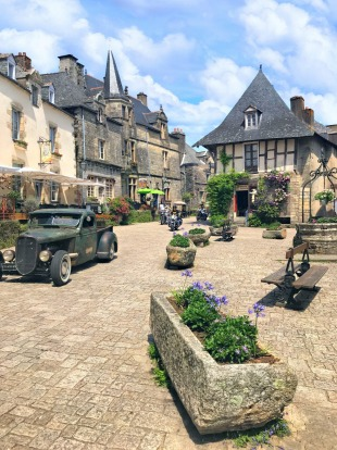 Rochefort en Terre: Despite it being voted one of the most beautiful villages in France and one of Brittany's most ...