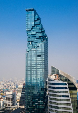 Mahanakhon is the new highest building in Bangkok.