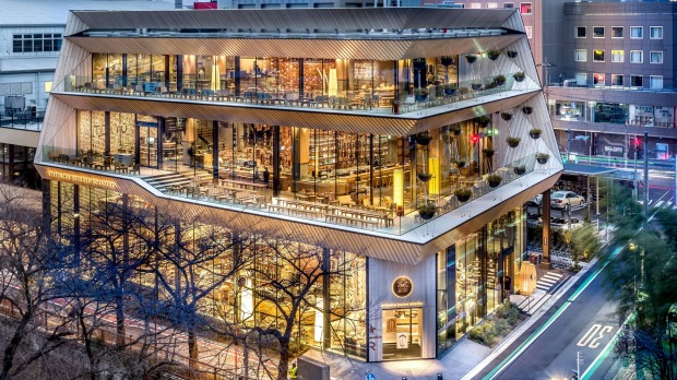 A Starbucks Reserve Roastery opened in Tokyo earlier this year. One is planned to debut in November in Chicago.