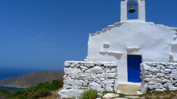 Church, island of Amorgos.