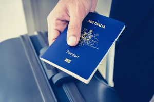 Australian passports apparently last only nine years and six months.