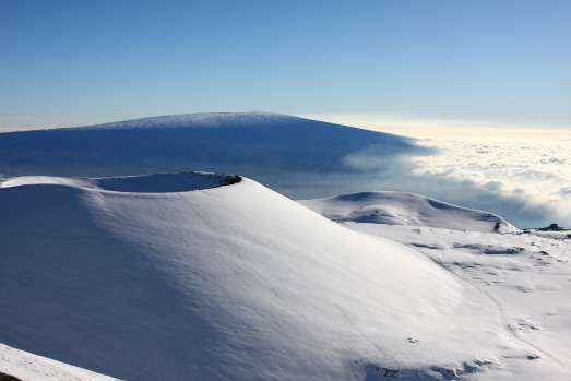 MAUNA KEA, ISLAND OF HAWAII: At 4207 metres, the peak of Mauna Kea is the highest point in the state of Hawaii (pedants ...