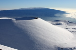 At 4207 metres, the peak of Mauna Kea is the highest point in Hawaii.