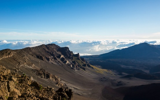 HALEAKALA, MAUI: Towering 3055 metres above sea level this shield volcano makes up three-quarters of Maui's land mass. ...
