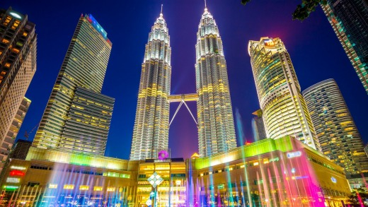 Kuala Lumpur's Petronas Towers are far more elegant than most of the world's super tall buildings.
