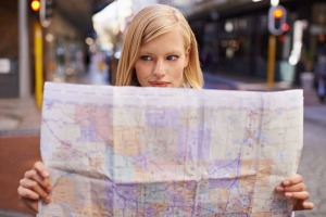 There's something romantic about the tactility of a paper map.