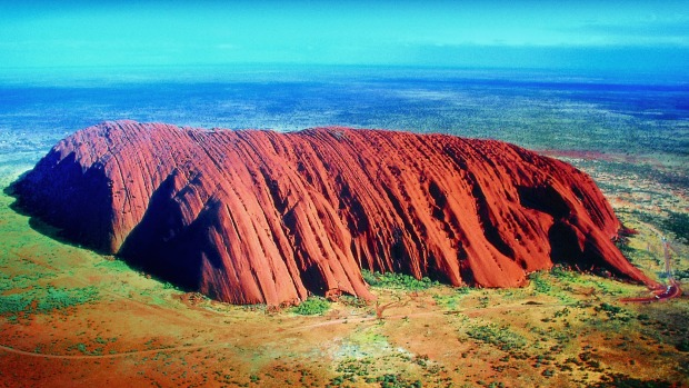 Uluru is a sacred site.