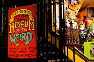 Museum of the Weird in Austin.