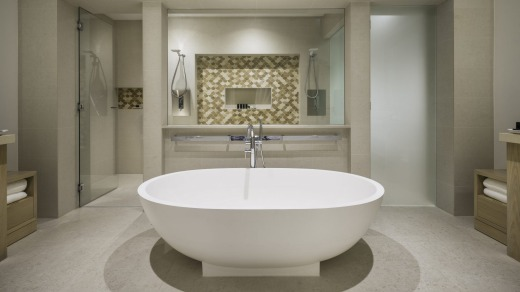 A Master Ensuite at Hayman Island.
