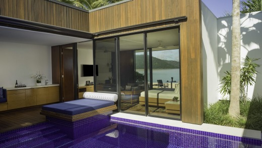 A Beachfront Pool Villa at Hayman Island.