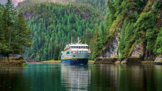 Lindblad cruise in British Columbia and Alaska.