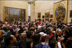 A whopping 10.2 million people visited the Louvre last year, often queuing for over an hour to get a 30-second glimpse ...