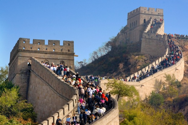 The Great Wall of China: Visitor numbers have recently got so out of hand at the Badaling section north of the Great ...