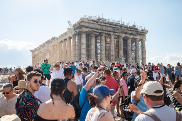 The Acropolis, Athens: Greek tourist board figures reckon more than 2.7 million people traipse around the Ancient ...