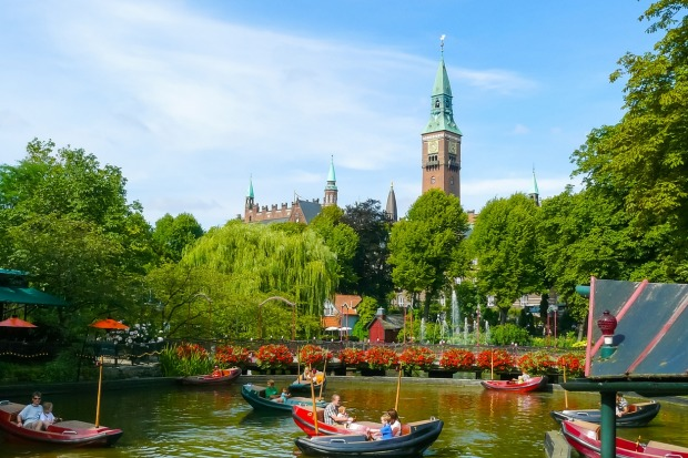 Tivoli Gardens, Copenhagen: Speaking of amusement parks where the rides aren't really the point, the Tivoli Gardens in ...