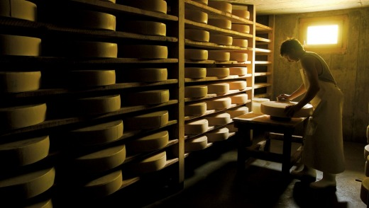 Organic Alpkase (cheese made from the milk of Alp-grazed cows) is the most coveted and lofty of cheeses produced in this ...