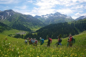 SatSept28Austria - Austria: Grosses Walsteral - Catherine Marshall Image supplied by Austrian Alps Active for use in ...