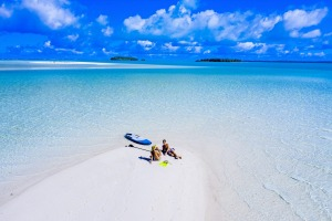Visit one of the Pacific's most revered lagoons at Aitutaki.