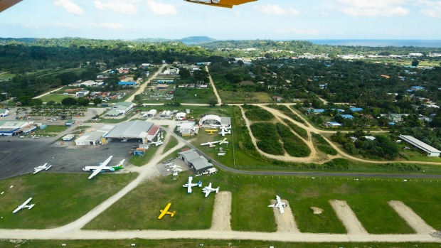 Port Vila Airport: Don't expect a glitzy, modern airport and you won't be disappointed.