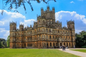 "Highclere Castle is the setting of ""Downton Abbey""."