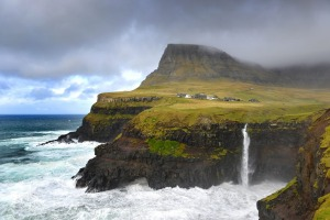 The Faroe Islands is a rocky 18-island volcanic archipelago that's home to 50,000 people, most of whome live in ...