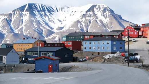 The Svalbard Islands, one of the world's remotest places.