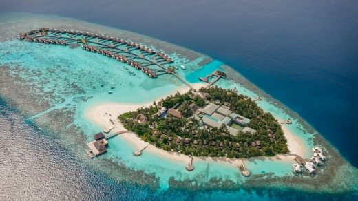 The setting of W Maldives is mesmerising for its minimalist beauty.