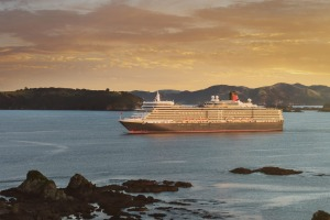 Cuncard's Queen Elizabeth in Paihia, New Zealand.
