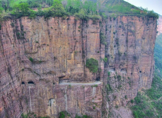 The Guoliang Tunnel, China: When the Chinese government refused to build an access road to the isolated villager of ...