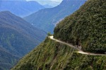 North Yungas Road, Bolivia: Linking La Paz with Corioco, this absolute horror show of a road has earned the nickname ...
