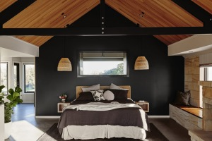 Each of the retreat's capacious stone and timber suites is individually designed and lavishly appointed.