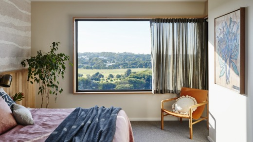 Hilltop views: A room at Lon Retreat & Spa.