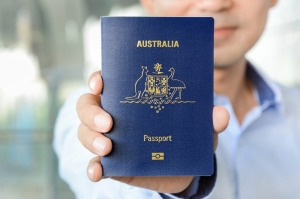 There's a reason why Australian passports, and all others, are in basic colours.