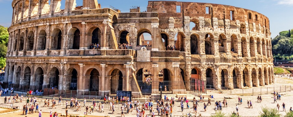 The Roman Colosseum in summer, Italy SunOct6cover - So touristy so good - Ben Groundwater iStock image for Traveller. ...