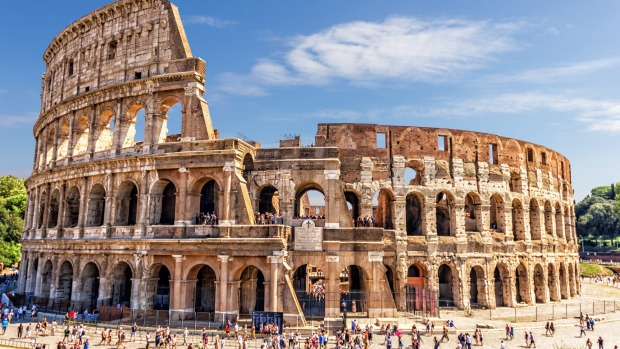 The Colosseum in Rome is one tourist magnet worth visiting.